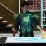 Iron Man - interactive holographic image 600x300px