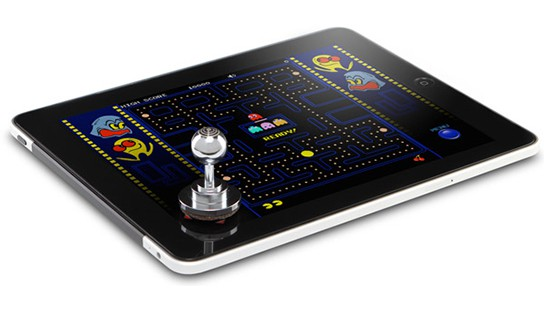 ThinkGeek JOYSTICK-IT iPad Arcade Stick main 544x311px