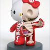 Jason Freeny Cutaway 6-inch Anatomical Hello Kitty (Modified Vinyl Action Figure) 566x800px