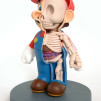 Jason Freeny Cutaway 5-inch Anatomical Mario (Modified Vinyl Action Figure) 518x800px