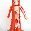 "Jason Freeny Anatomical Yo Gabba Gabba ""Muno"" (9.5-inch modified vinyl toy) 470x800px"