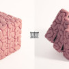 Jason Freeny Rubik's Cube embedded inside brain sculpt 544x262px