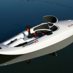 powered kayaking now comes with spring-cushioned seat