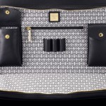 Mark Giusti Saddle Leather Travel Bag - Laptop Bag Interior 800x567px