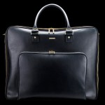 Mark Giusti Saddle Leather Travel Bag - front view 800x567px