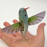 unmanned aircraft in the guise of a hummingbird