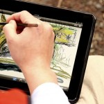 now you can paint on your iPad the Nomad Paintbrush way