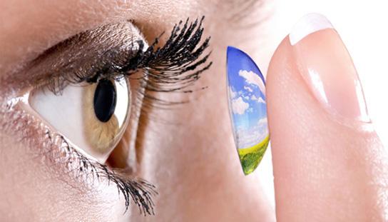 Smart contact lenses illustration 544x311px