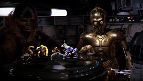 Star Wars - Holographic Chess Set 544x309px