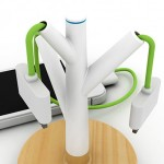 The Giving Tree is a charging station for iPhones