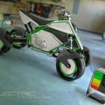 The Quad Electric Bike by Facundo Elias - charging up 600x450px