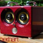 Thodio iBox in Purpleheart wood 600x400px
