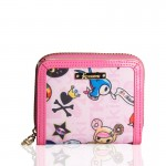 Tokidoki Mondrian Small Flap and Zip Wallet 800x800px