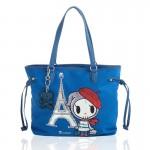 Tokidoki Marais Tote Handbag (blue) 800x800px