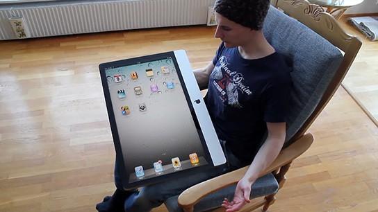 an iPad 2 parody 544x306px
