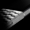 Aesir +YvesBehar Phone - closer look of the 316L Stainless Steel version 800x698px