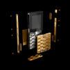 Aesir +YvesBehar Phone - exploded view 800x698px