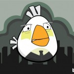 Angry Birds Alfred as illustrated by Bite 580x408px