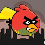 Angry Birds Robin as illustrated by Bite 580x408px