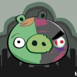 Angry Birds Two Face as illustrated by Bite 580x408px