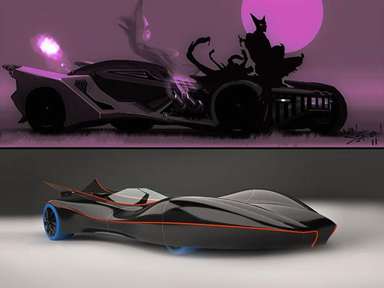 Batmobile Design Competition Winners 544x408px