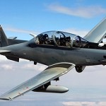 modern turboprop turns into surveillance aircraft