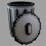 BrittLiv Pixel Trash Can - lid off 600x600px