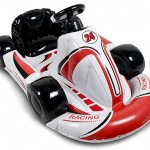 inflatable racing kart add realism to your racing experience on Wii