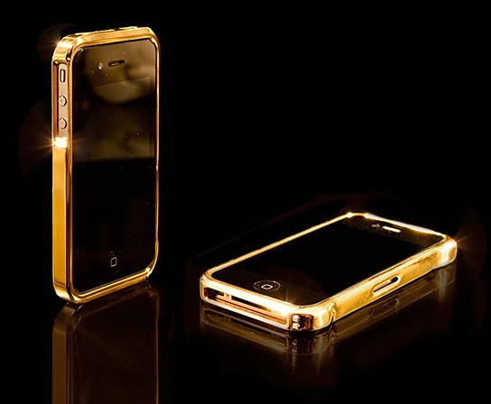 CrystalRoc 24-ct iPhone 4 Bumper 544x448px
