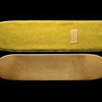 Greg Hervieux x Domeau & Pérès Leather Skateboard Deck