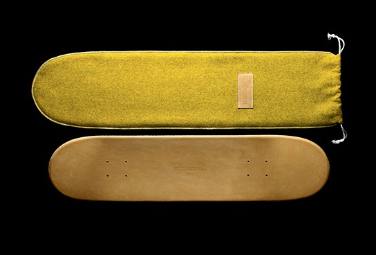 Domeau and Peres Premium Leather Skateboard Deck 544x368px