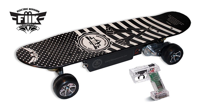 Fiik Electric Skateboard Has Wireless Control And Abs