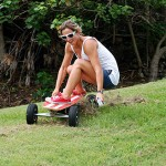 FiiK electric skateboard has wireless control and ABS braking