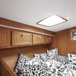 Firmship FS 42 - cabin with treated teak carpentry 900x600