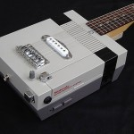 Nintendo NES console reincarnates as an electric guitar