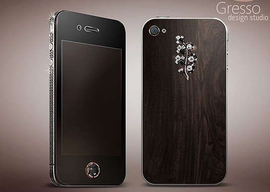 Gresso Black Diamonds iPhone 4 for Lady 544x388px
