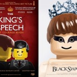 LEGO Oscar Best Picture Nominees Movie Posters - King's Speech & Black Swan 700x480px