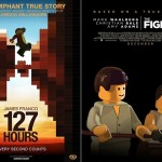 LEGO Oscar Best Picture Nominees Movie Posters - 127 Hours & The Fighter 700x480px