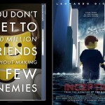 LEGO Oscar Best Picture Nominees Movie Posters - The Social Network & Inception 700x480px