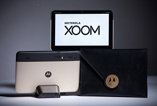 Limited Edition Gold Motorola XOOM 544x368px
