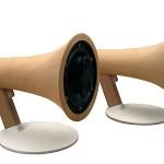 Megaphone Loudspeakers by Corentin Dombrecht image1 600x450px