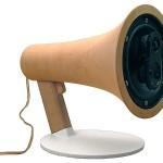 Megaphone Loudspeakers by Corentin Dombrecht image2 600x450px