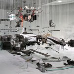 Mercedes Benz World F1 - View Suspended II by Dutch artist Paul Veroude 700x400px