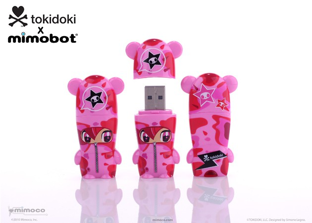 Mimoco tokidoki x MIMOBOT USB Flash Drives - Sabochan 630x450px