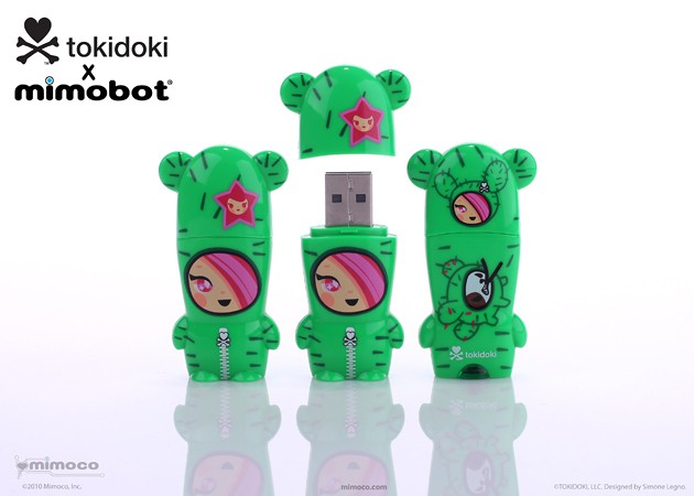 Mimoco tokidoki x MIMOBOT USB Flash Drives - SANDy 630x450px