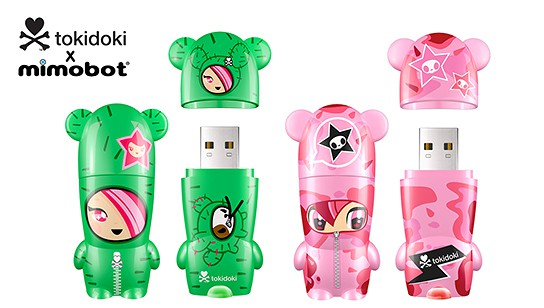 Mimoco tokidoki x MIMOBOT USB Flash Drives 544x308px