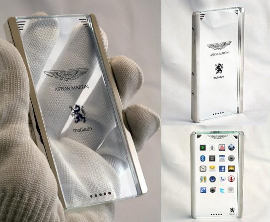 Mobiado CTP002 Aston Martin Concept Phone 544x448px