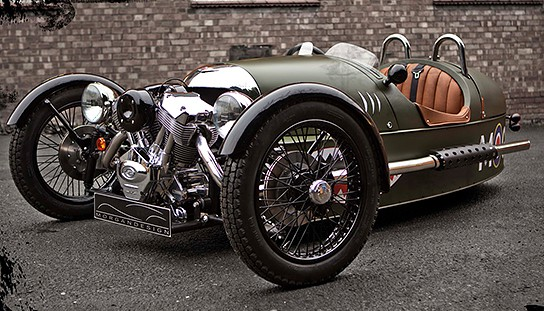 Morgan Motor's modern take on its classic 3-Wheeler - MIKESHOUTS