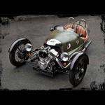 Morgan 3-Wheeler - angled front view 800x800px