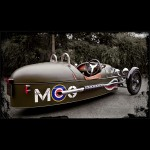 Morgan 3-Wheeler - angled rear view 800x800px